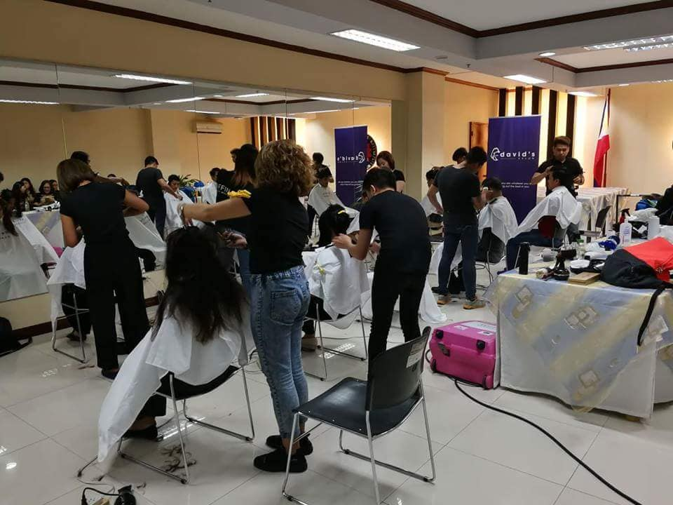 DAVID'S SALON LIBRENG GUPIT ACTIVITIES FOR SEPTEMBER