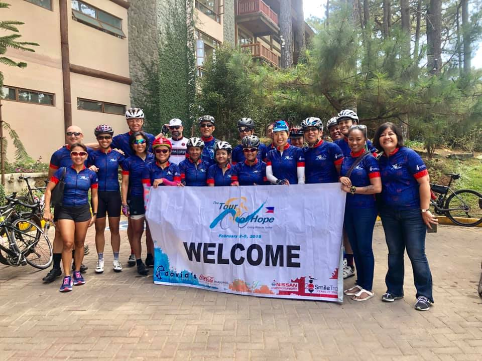 Team David's Salon for Tour of Hope 2019