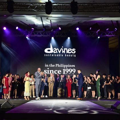 DAVID'S SALON STYLISTS CREATE LOOKS FOR DAVINES HAIR ON STAGE MANILA 2019