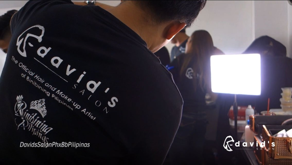 DAVID'S SALON AND THE BINIBINING PILIPINAS ROAD TO THE CROWN