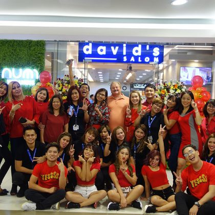 DAVID'S SALON OPENS 7 BRANCHES FOR FIRST HALF OF 2019